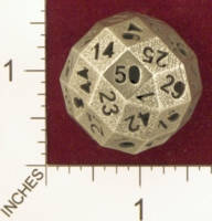 Dice : MINT25 SHAPEWAYS FRIZ 50 SIDE DIE 01