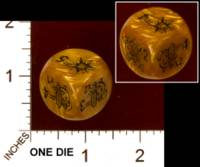 Dice : MINT29 IRON CROWN ENTERPRISES CITIES OF DOOM MAGIC DIE 01