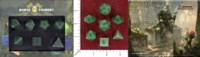 Dice : MINT49 NORSE FOUNDRY AVENTURENE GREEN