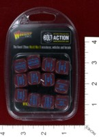 Dice : MINT39 WARLORD GAMES BOLT ACTION ORDER DICE 05