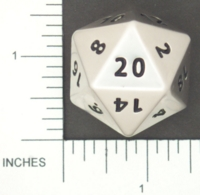 Dice : METAL STEEL D20 01 CRYSTAL CASTE 01
