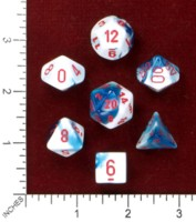 Dice : MINT46 CHESSEX 2015 POLY COLORS 01