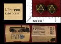 Dice : MINT48 ULTRA PRO D20 DICE SET