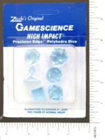 Dice : MINT6 GAMESCIENCE BLUE