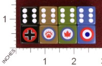 Dice : MINT34 FIELD MARSHALL GAMES FACTION GERMAN ANZAC CANADIAN FRENCH 01