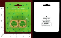 Dice : MINT44 PAPEL GIFTWARE SHAMROCK SHOP DICE
