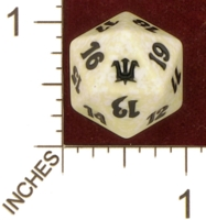 Dice : D20 OPAQUE ROUNDED SPECKLED MTG LIFE COUNTERS INNISTRAD 02