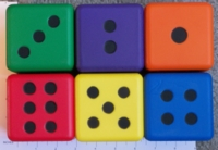Dice : FOAM LARGE FOAM D6 01