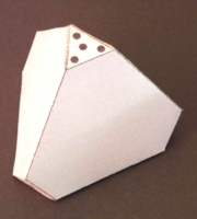Dice : PAPER D04 MY DESIGN FIRST TRY