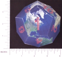 Dice : PAPER D12 3 DODECEARTH 01