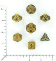 Dice : MINT56 HENGDA MANUFACTURING TWO TONE PORCELAIN 04