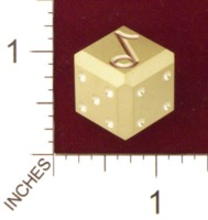 Dice : MINT21 ACE PRECISION BRASS MUSIC NOTE