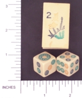 Dice : MINT1 UNKNOWN MAJONG 01