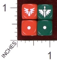 Dice : MINT35 UNKNOWN WARHAMMER BLOOD DARK ANGELS