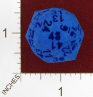 Dice : MINT24 SHAPEWAYS FRIZ 48 SIDE DICE HOLLOW