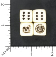 Dice : MINT57 HOMEMADE SKULLS