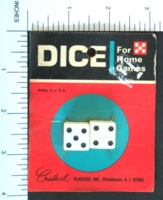 Dice : MINT2 CRISLOID WHITE 2 FIVE EIGHTHS 01