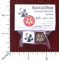 Dice : MINT48 BATTLESCHOOL BATTLEDICE SOVIET ORDER OF THE PATRIOTIC WAR ASL 1985 2015
