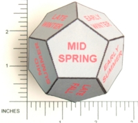 Dice : PAPER D12 MY DESIGN SEASONAL
