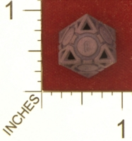 Dice : MINT27 SHAPEWAYS AEGIDIAN COMPANIONABLE D8 02