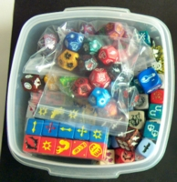 Dice : CONTAINERS COLLECTABLE