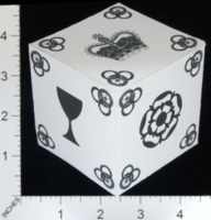Dice : PAPER D06 MY DESIGN ROBERT JORDAN WHEEL OF TIME CROWNS DIE 01