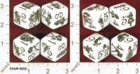 Dice : MINT27 ERIC HARSHBARGER WONDERLAND DICE 01