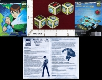 Dice : MINT22 PRESSMAN BEN 10 ALIEN FORCE ALIENS VS VILLIANS 01