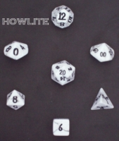 Dice : STONE MULTI CRYSTAL CASTE HOWLITE