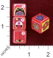 Dice : MINT30 PRINT AND PLAY PRODUCTIONS CHUNKY FIGHTERS WIZARD 01