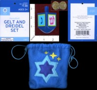 Dice : MINT37 TARGET GELT AND DREIDEL SET