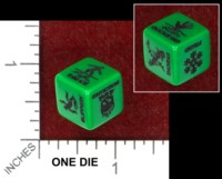 Dice : MINT48 CHESSEX WILDERNESS HAZARD