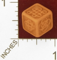 Dice : MINT27 SHAPEWAYS WILLLAPUERTA CELTIC DIE 01