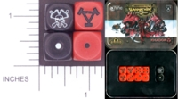Dice : MINT10 GALE FORCE NINE FOR PRIVATEER PRESS WARMACHINE KHADOR 01