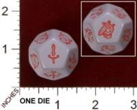Dice : MINT29 IRON CROWN WILDS OF DOOM SPECIAL ENCOUNTER DIE 01