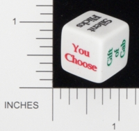 Dice : NON NUMBERED OPAQUE ROUNDED SOLID GAMESTATION UNKNOWN 01