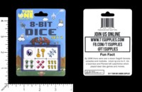 Dice : MINT58 TURN ONE GAMING 8 BIT DICE SET 2 RPG