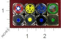 Dice : MINT40 UNKNOWN MARVEL COMICS CAPTAIN AMERICA SHIELD THOR