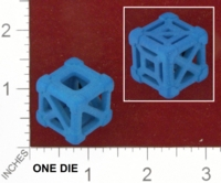 Dice : MINT25 SHAPEWAYS WILLLAPUERTA CAGE 6 SIDED DIE 01