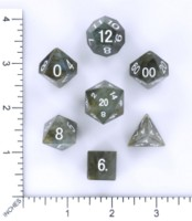 Dice : MINT54 METALLIC DICE GAMES LABRADORITE