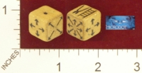 Dice : MINT21 PARKER BROTHERS MICRODOT 01