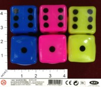 Dice : MINT41 MAX REYNOLDS INTERNATIONAL DICE BOUNCING BALL