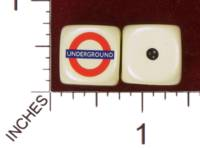 Dice : MINT29 YAK YAKS LONDON UNDERGROUND 01