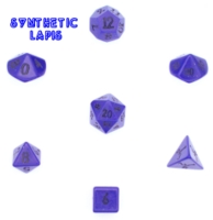 Dice : STONE MULTI CRYSTAL CASTE LAPIS SYNTHETIC