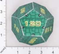 Dice : PAPER D12 OVERSOUL GAMES MECHA SOVIET IMPERIUM HEAVY MECHA HIT DICE 01