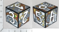 Dice : PAPER D06 PI-RATICAL STEAMPUNK 01