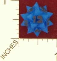 Dice : MINT24 SHAPEWAYS CLSN COMPOUND OF 5 TETRAHEDRA AS D12 01