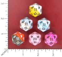 Dice : MINT52 CHESSEX D20 FROM POUND