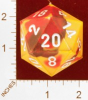 Dice : PAPER D20 MY DESIGN FOR GENCON 2011 HAT COPY OF CHESSEX 2011 DESIGN 01
