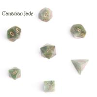 Dice : STONE MULTI CRYSTAL CASTE JADE CANADIAN